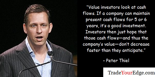 Peter Thiel of Clarium Capital speaks during the Ira W. Sohn investment research conference in New York