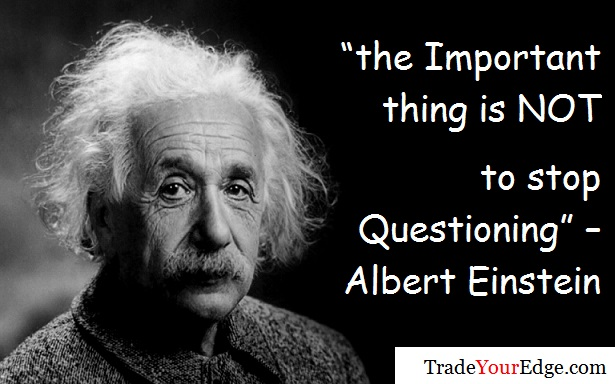 albert einstein and trading