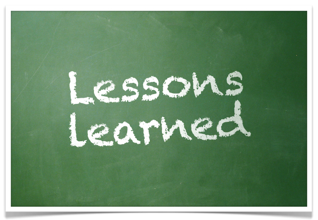 trading lessons learned