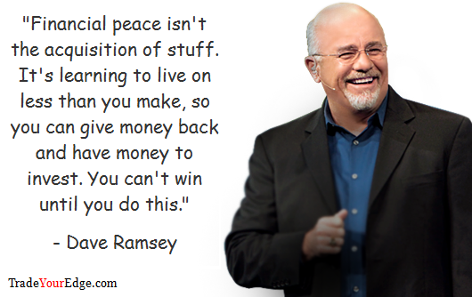 Dave Ramsey Quotes QuotesGram