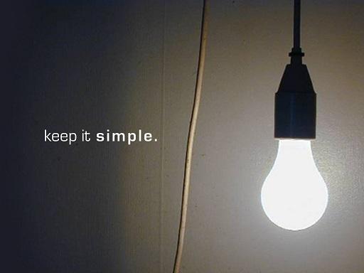 Keep Trading Simple