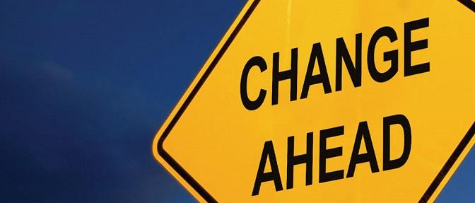 Trading Change Ahead